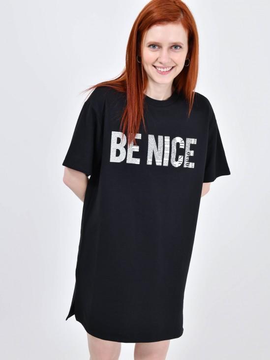 Playera 'Be Nice'