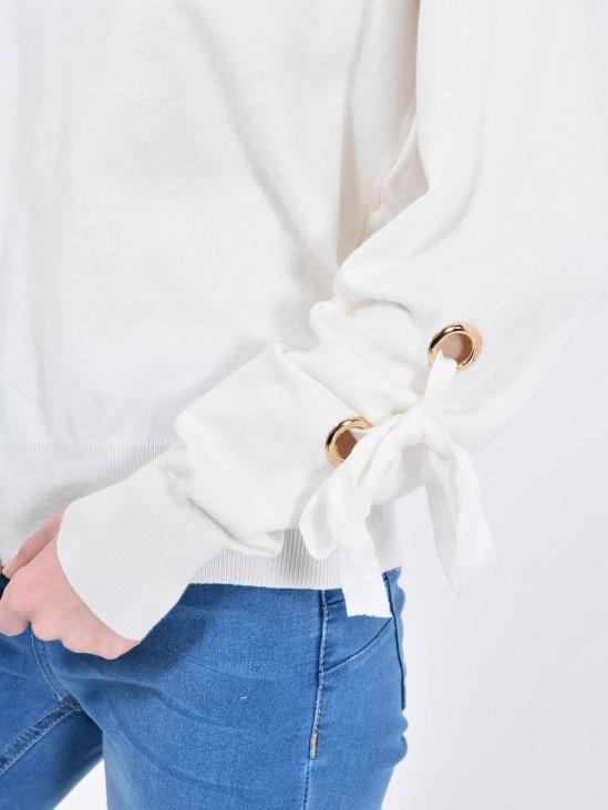 Suéter Ojillos