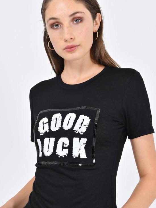 Playera 'Good Luck'