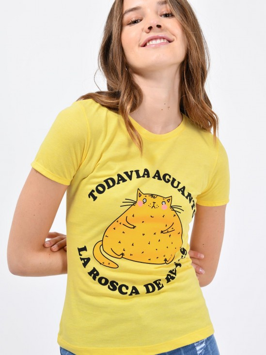 Playera 'Gato Gordo'