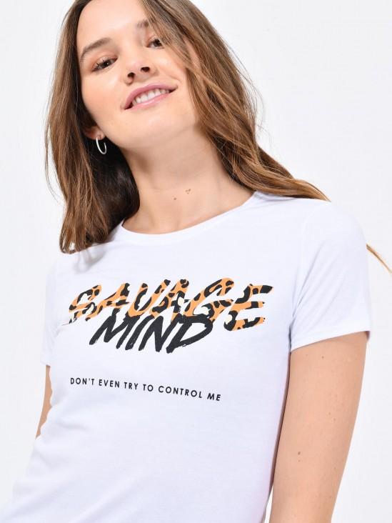 Playera 'Savage Mind'