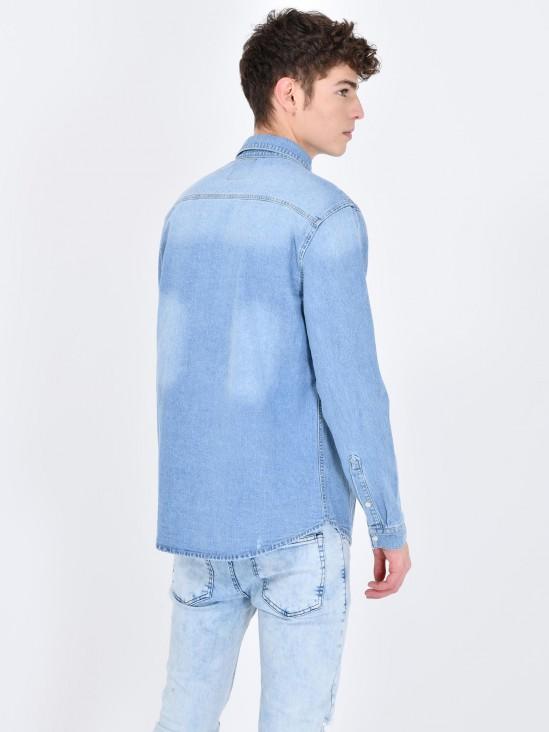 Camisa Mezclilla