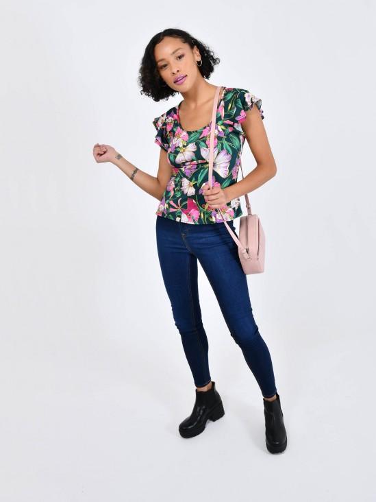 Playera Floral | CCP