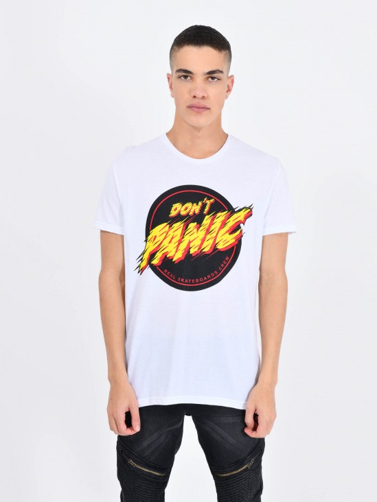 Playera 'Don't Panic'