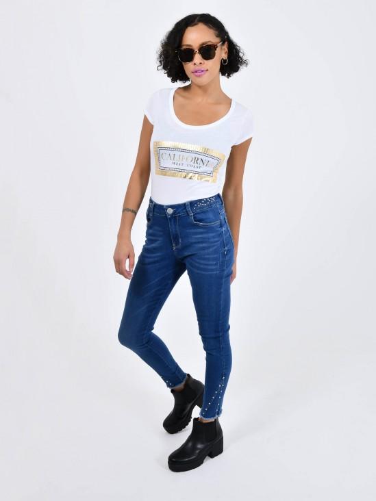 Jeans Skinny Estoperoles