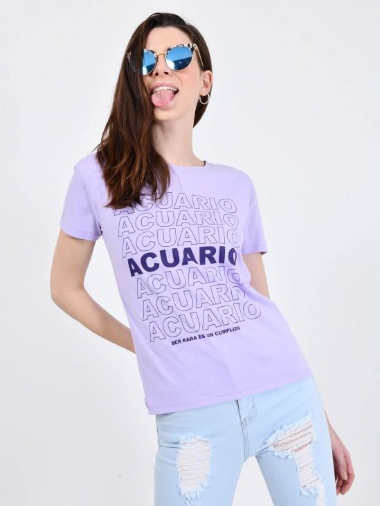 Playera 'Acuario'