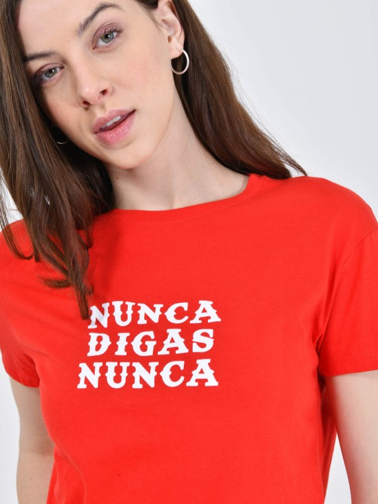 Playera 'Nunca Digas Nunca'