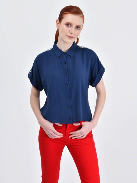 Blusa Cropped Franja