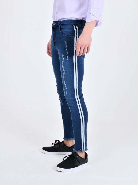 Jeans Skinny Desgastes