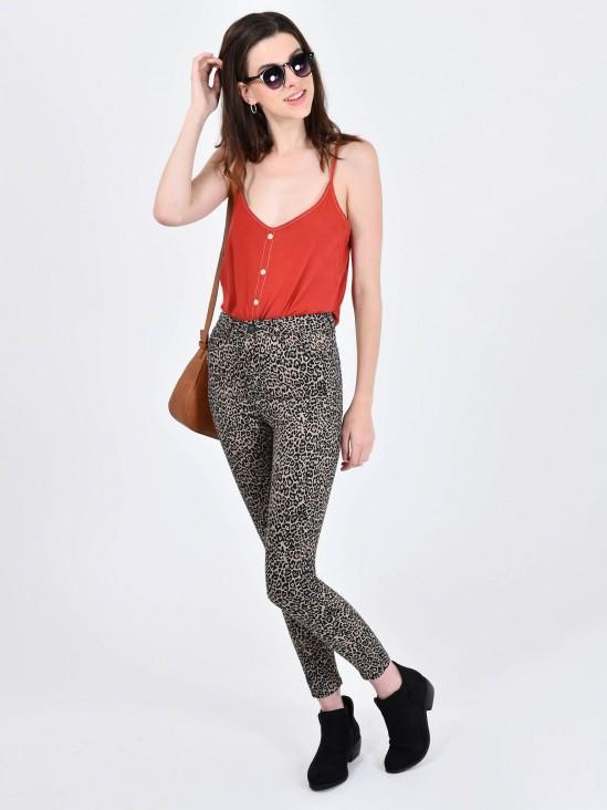 Pantalón Skinny Animal Print | CCP