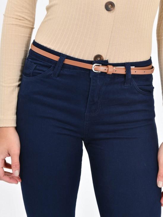 Pantalón Skinny Cinturón