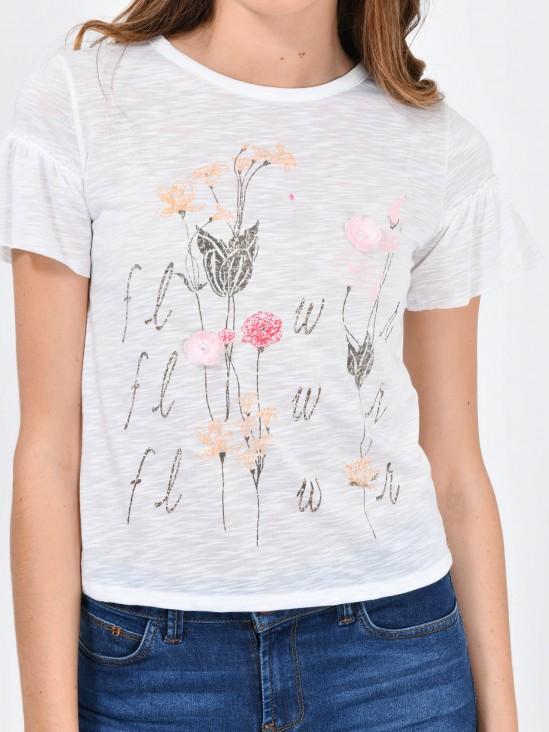 Playera Flower