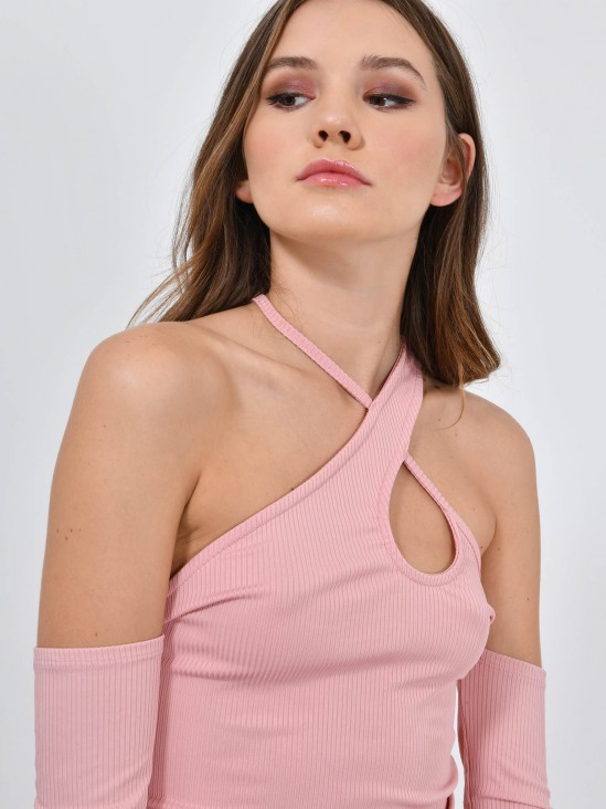 Blusa Cuello Halter