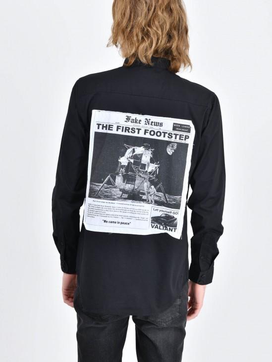 Camisa Estampado Espalda