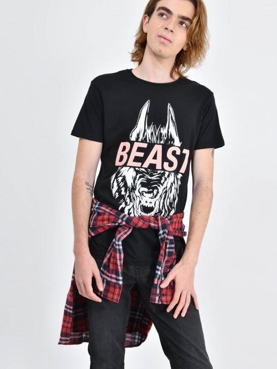 Playera Beast