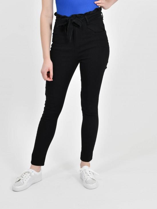 Jeans Tiro Alto Cinturón