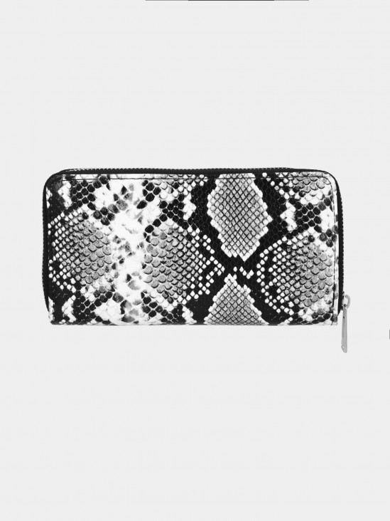 Cartera Estampada Serpiente