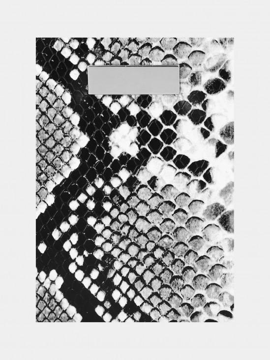 Cartera Reptil Print