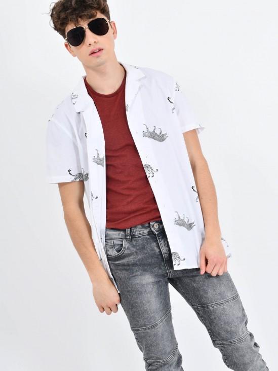 Camisa 'Leopardo'