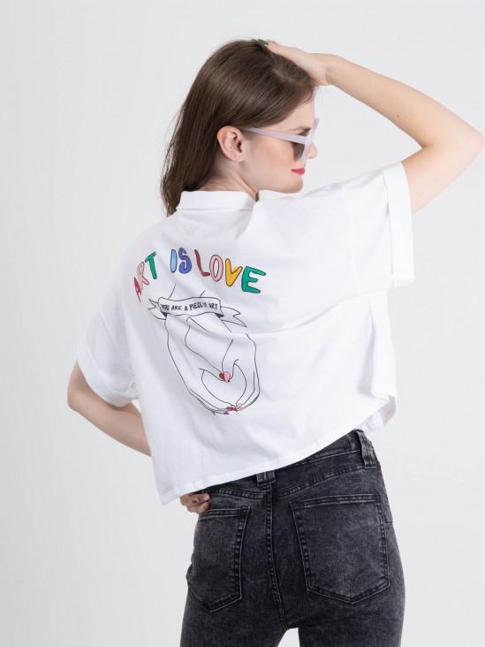 Playera 'Art is Love'