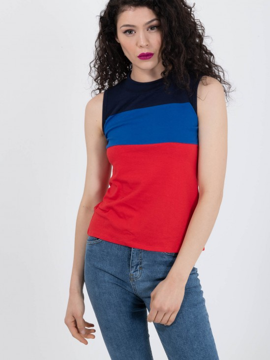 Playera Bloques de Color