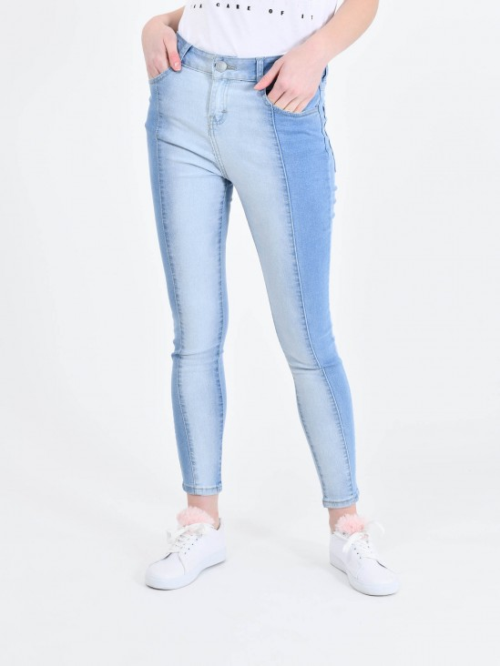 Jeans Bicolor
