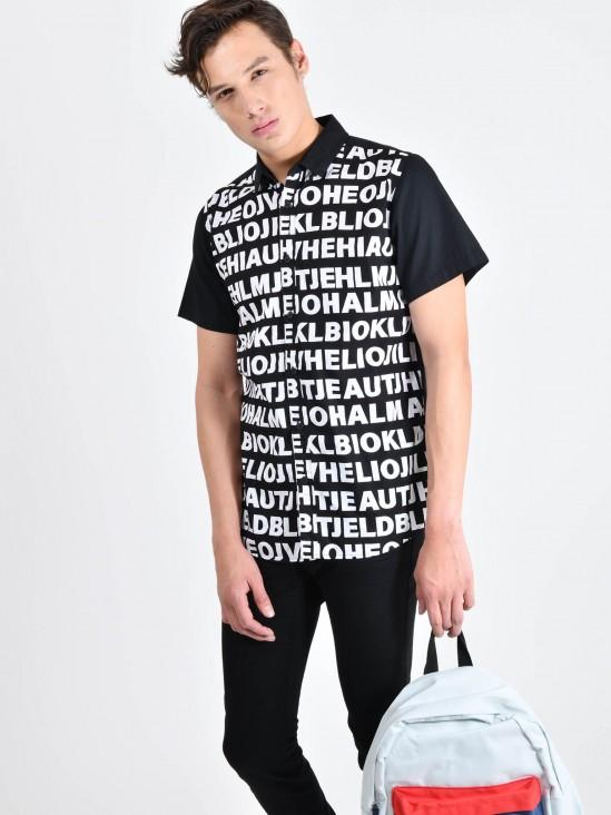 Camisa Letras