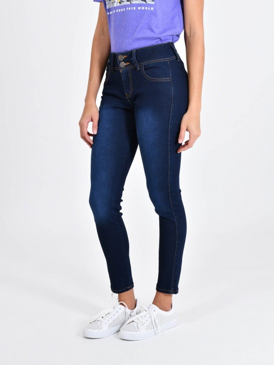 eae34c7ba3 Jeans Skinny Botones Jeans Skinny Botones