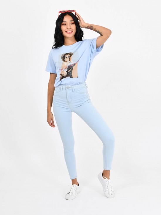Jeans Básico Tiro Alto | CCP