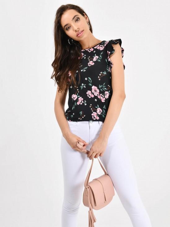 Blusa Estampado Flores | CCP