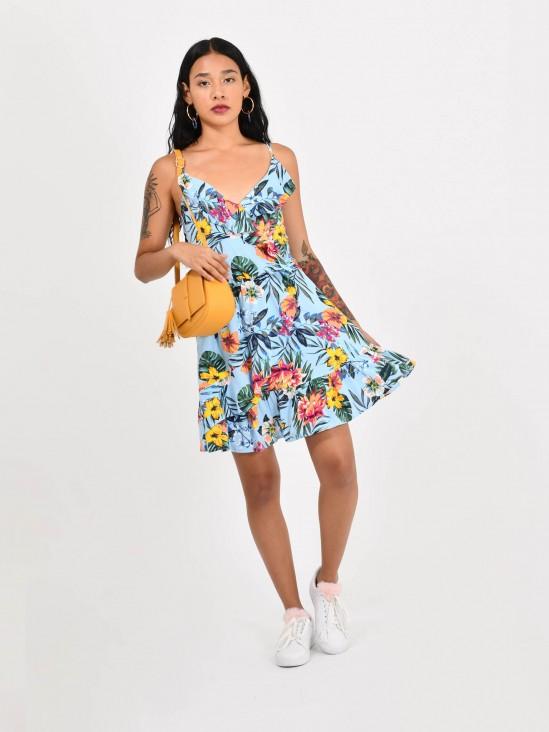 84049ef664 Vestido Floral ...
