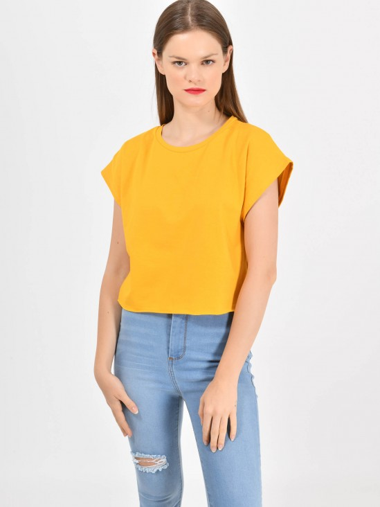 f29932e4f Playera Cropped Never ...