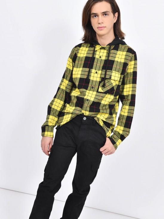 Camisa Manga Larga Cuadros   CCP