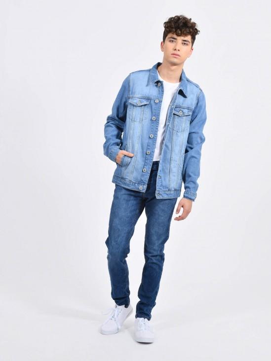 Jeans Skinny Decolorado | CCP