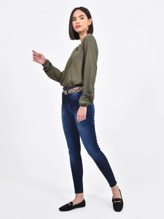 Jeans Skinny Cinturón | CCP