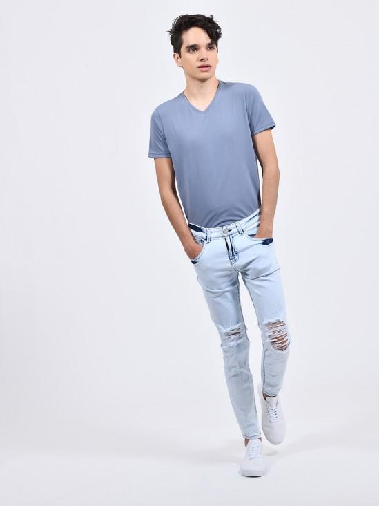 Jeans Ultra Skinny Destrucciones | CCP