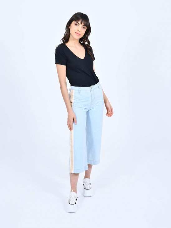 Jeans Cropped Franjas | CCP