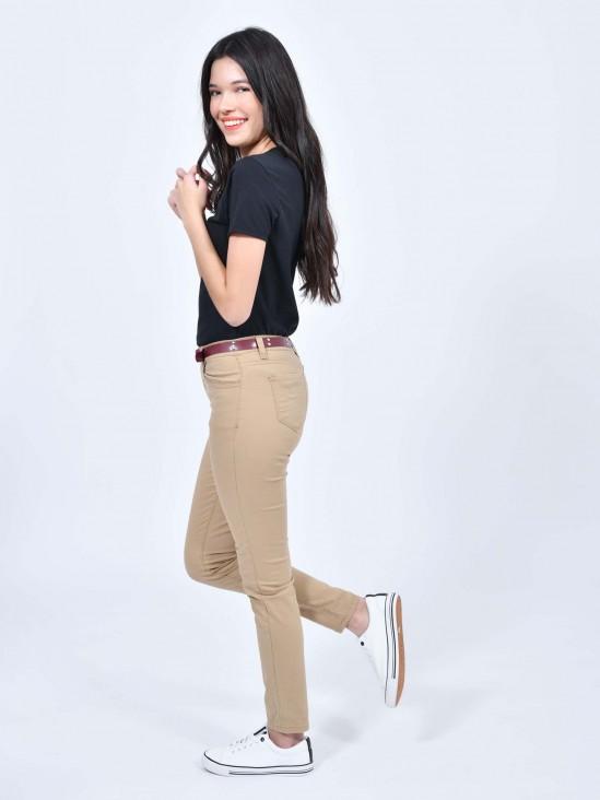 Jeans Gabardina Corte Skinny | CCP