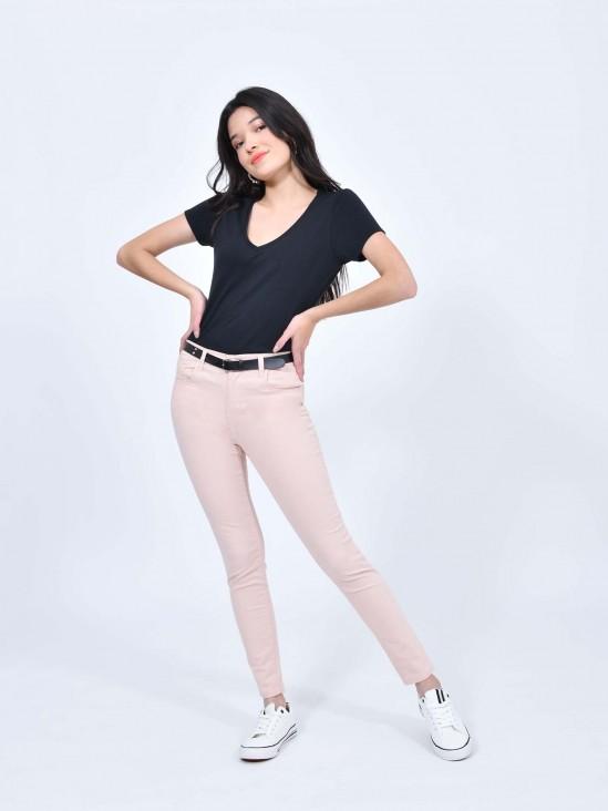 Pantalón Skinny Gabardina | CCP