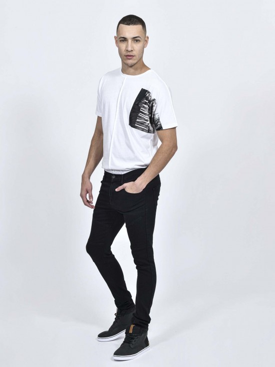 Jeans Skinny Costuras | CCP