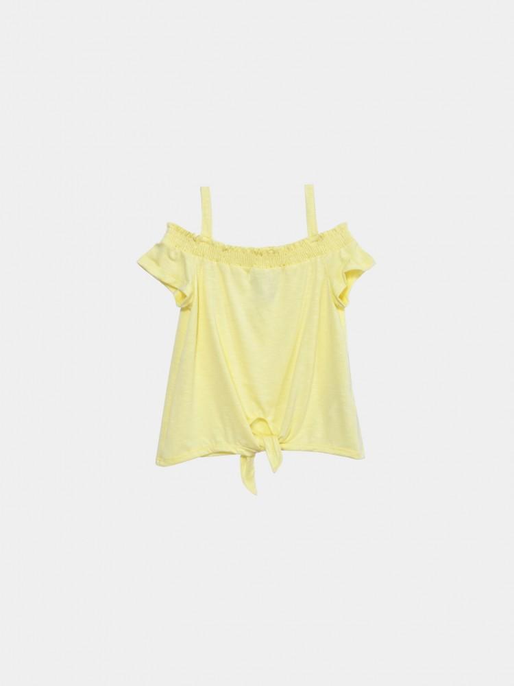 Blusa Amarilla Con Tirantes | CCP