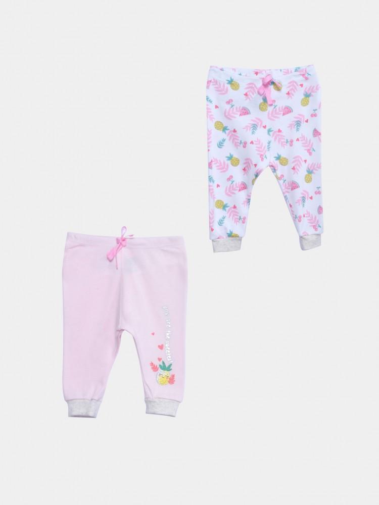 Pantalones Con Estampado Frutas Tropicales   CCP