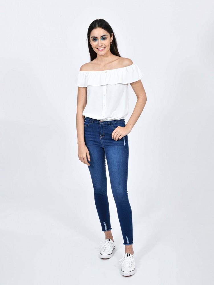 Jeans Tiro Alto | CCP