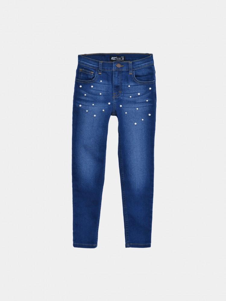 Jeans Slim Perlas para Niña | CCP