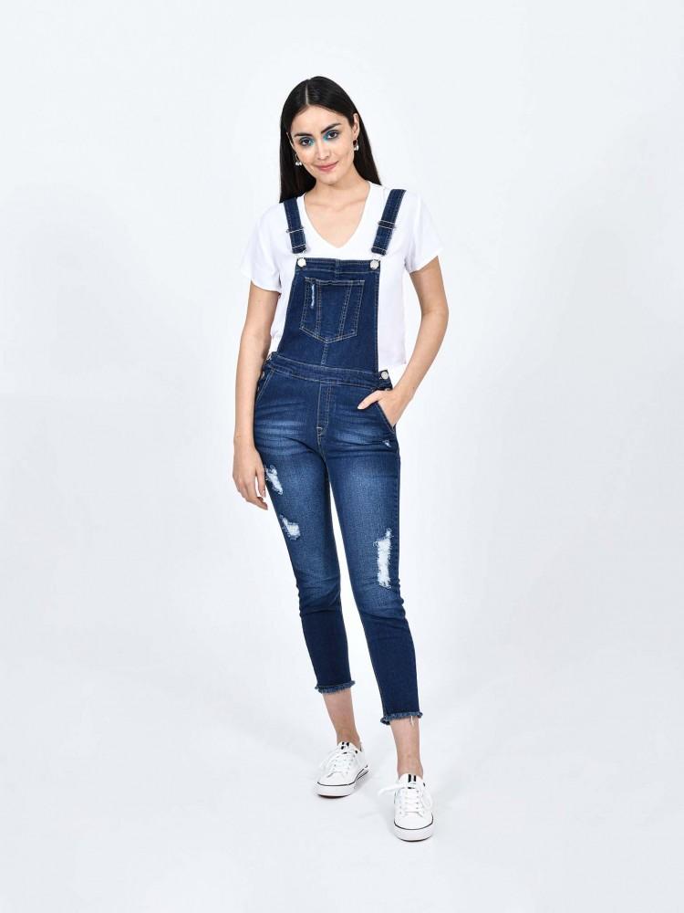 Jeans Overol Mezclilla | CCP