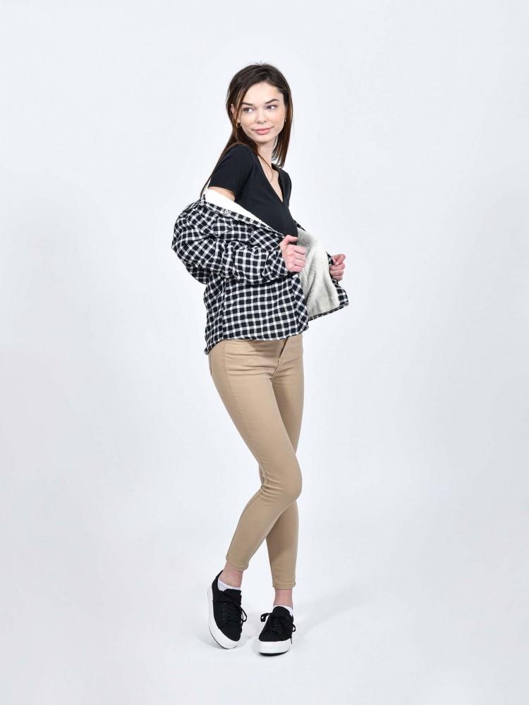 Pantalón Skinny Tiro Medio | CCP