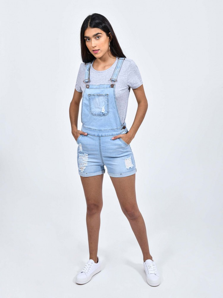 Short Overol Denim | CCP