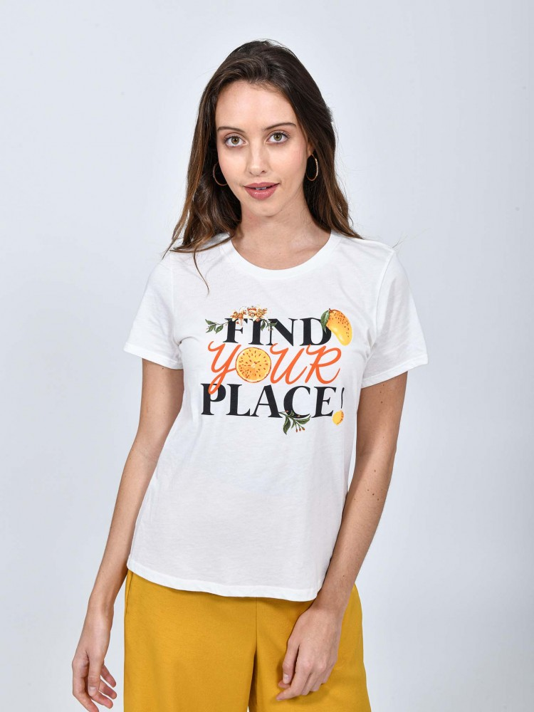 Playera Cuello Redondo 'Find Your Place' | CCP