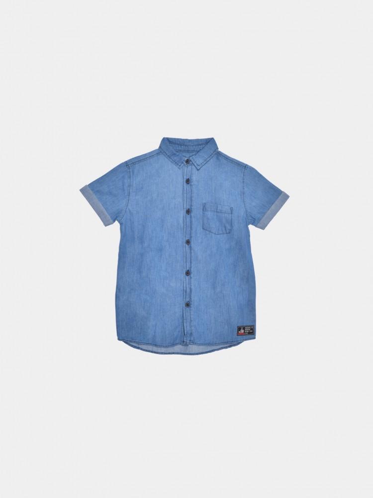 Camisa Mezclilla Cuello Clásico   CCP