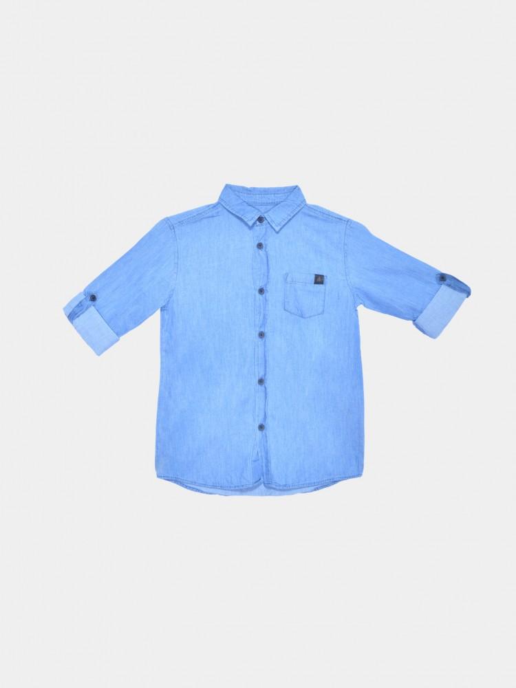 Camisa Mezclilla Manga Corta | CCP